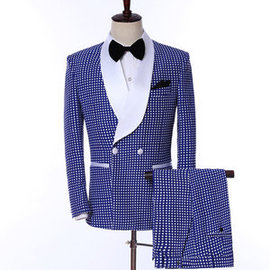 Trousers Slim Fit Married European Size Tuxedos Men's Wedding Suits