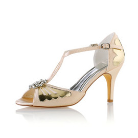 Autumn Winter Heels Actual Heel Height 3.15 Inch Charming Wedding Shoe