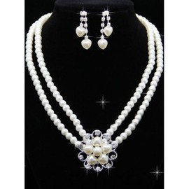 Beautiful Modest Beading Bridal Jewelry