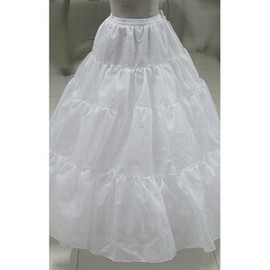 Simple Soft Ankle Length Ball Gown Crinolines