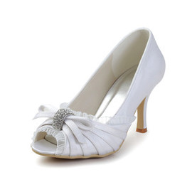 Heels Spring Actual Heel Height 3.54 Inch Eternal Bridal Shoe