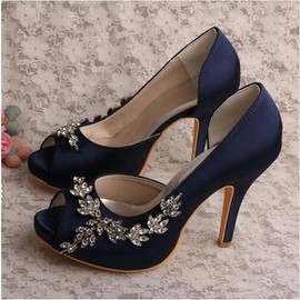 Romantic Heels Platform Height 0.59 Inch Platform Women Shoe