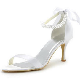 Actual Heel Height 3.54 Inch Heels Drama Spring Bridal Shoe