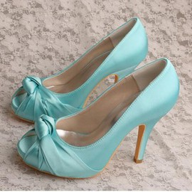 Heels Actual Heel Height 3.94 Inch Platform Charming Women Shoe