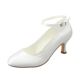 Eternal Actual Heel Height 2.36 Inch Winter Bridal Shoe