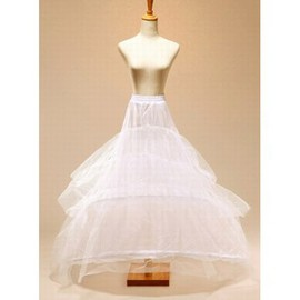 Simple Wonderful Floor-Length Princess Crinolines