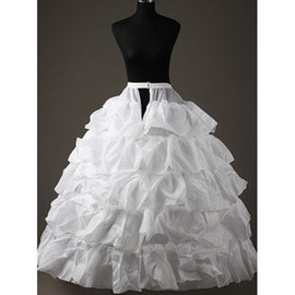 Tiered Beautiful Ankle Length Ball Gown Crinolines