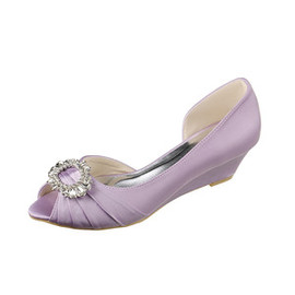 Actual Heel Height 1.97 Inch Modern Autumn Bridal Shoe