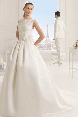 Rectangle Pear Sleeveless Appliques Pompous Wedding Dress