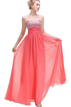 A-Line Keyhole Back Capped Sleeves Sequined Floor Length Prom Dress