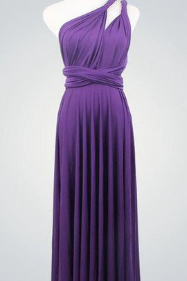 Informal & Casual Floor Length Pleated Sleeveless Bridesmaid Dress