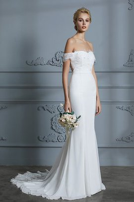 Church Chic & Modern Jewel Accented Floor Length Fancy Showy Zipper Up Wedding Dress
