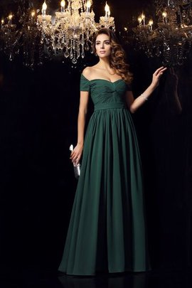 Empire Waist Sleeveless Floor Length Princess Ruched Prom Dress