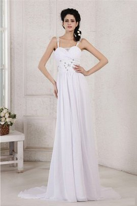Sleeveless Beading Sheath Pleated Appliques Wedding Dress