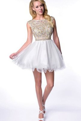Beading Elegant & Luxurious Chic & Modern A-Line Short Party Dress