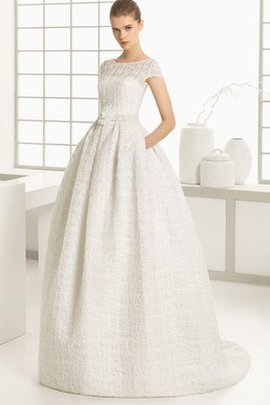 Beach Simple Ankle Length Ball Gown Long Wedding Dress