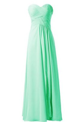 Pleated Sweetheart A-Line Chic & Modern Ruched Bridesmaid Dress