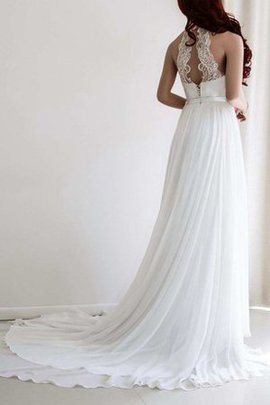 Pleated Lace Fabric Beach Elegant & Luxurious Wedding Dress