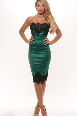 Informal & Casual Strapless Sexy Sleeveless Knee Length Evening Dress