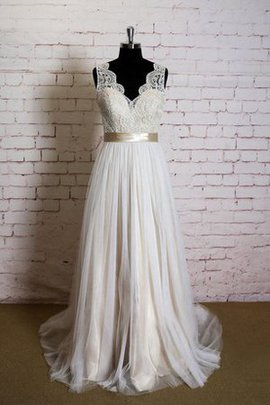 Floor Length Backless Apple Plus Size Natural Waist Wedding Dress