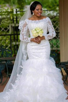 Glamorous Hall Organza Ball Gown Church Vintage Romantic Wedding Dress