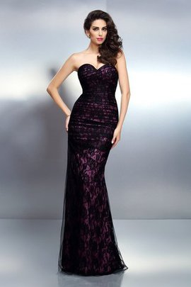 Empire Waist Elastic Woven Satin Long Lace-up Mermaid Evening Dress