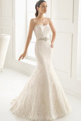Outdoor Romantic Sweetheart Sexy Thin Wedding Dress