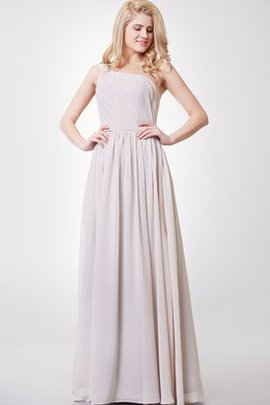 Ruched Elegant & Luxurious Zipper Up Chiffon Pleated Bridesmaid Dress