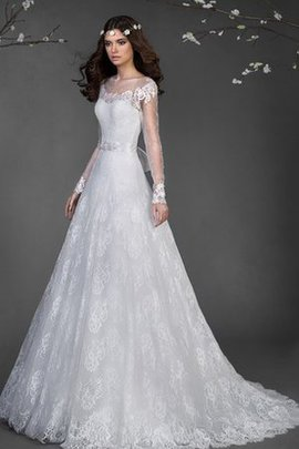 Appliques Tulle Modest Elegant & Luxurious Wedding Dress
