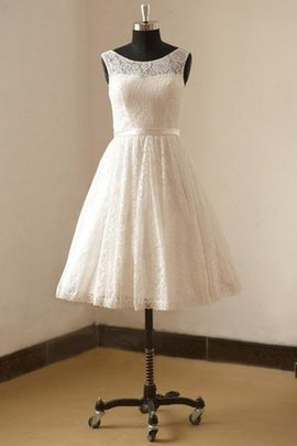 Sashes Lace Informal & Casual Scoop Simple Wedding Dress