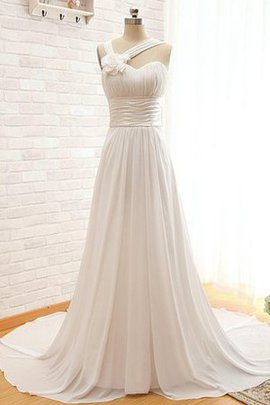 Sashes Floor Length Informal & Casual Chiffon Wedding Dress