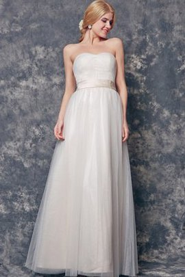 Simple Ruched Backless Floor Length Bridesmaid Dress