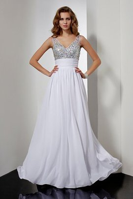 Floor Length Sleeveless Long Empire Waist Backless Evening Dress