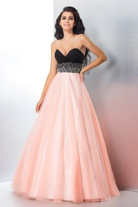 Satin Zipper Up Ball Gown Sleeveless Sweetheart Quinceanera Dress
