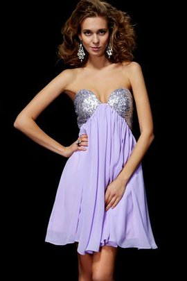 Sleeveless Lace Sheath Sequined Short Homecoming Dress
