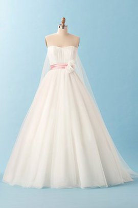 Hourglass Empire Waist Tulle Outdoor Apple Wedding Dress