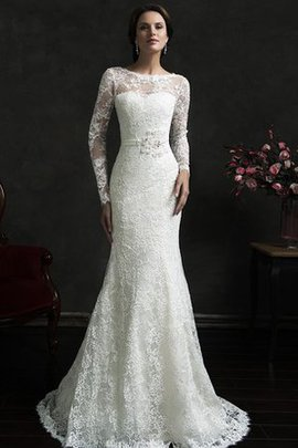 Jewel Romantic Lace Elegant & Luxurious Wedding Dress