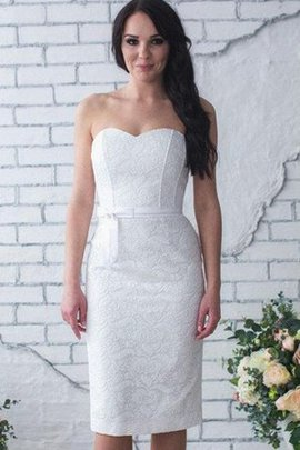 Lace Romantic Knee Length Sexy Exclusive Wedding Dress