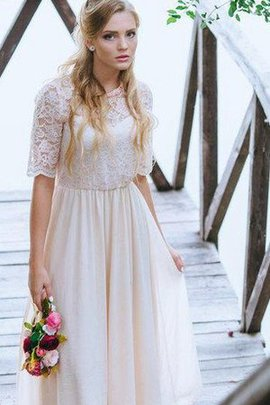Plus Size Modest Informal & Casual Beach Bridesmaid Dress