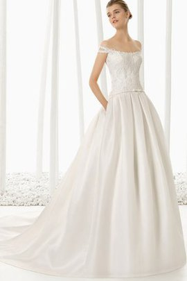 Vintage Beading Floor Length Chic & Modern Elegant & Luxurious Wedding Dress