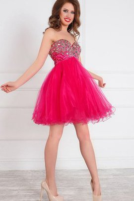 Chic & Modern A-Line Short Sweetheart Sleeveless Homecoming Dress