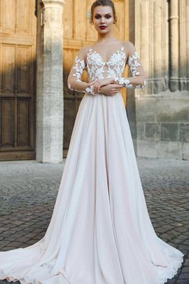 Appliques Long Apple Sexy Court Train Wedding Dress