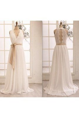 Keyhole Back Lace Floor Length Halter Informal & Casual Wedding Dress