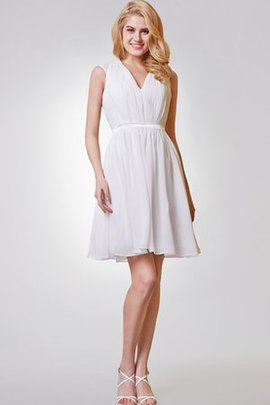 Short Ruffles Sleeveless A-Line Appliques Party Dress