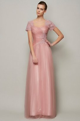 Appliques Floor Length Sweetheart A-Line Long Evening Dress