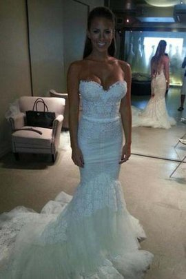 Pleated Sexy Romantic Zipper Up Cathedral Train Wedding Dress