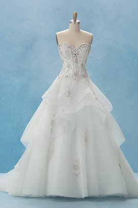 Hall Chic & Modern Ball Gown Hourglass Zipper Up Wedding Dress