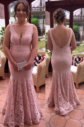 Natural Waist Plus Size Zipper Up Lace Beading Prom Dress