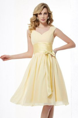 Natural Waist Draped Chiffon Spaghetti Straps Zipper Up Bridesmaid Dress