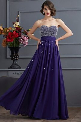 Princess Chiffon Zipper Up Long Empire Waist Evening Dress
